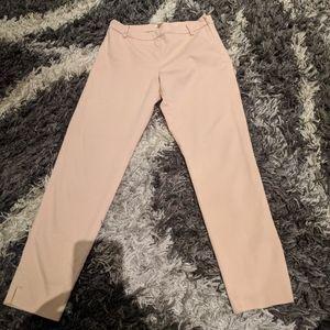 H & M pants khakis powder pink